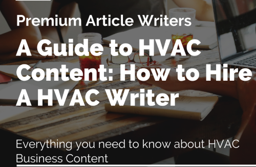 A guide to HVAC content
