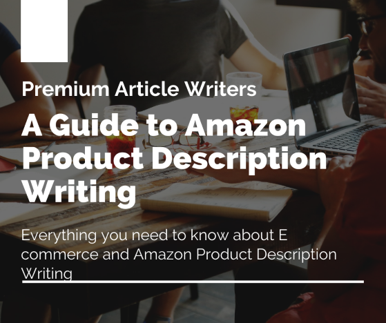 A guide to amazon product description writing
